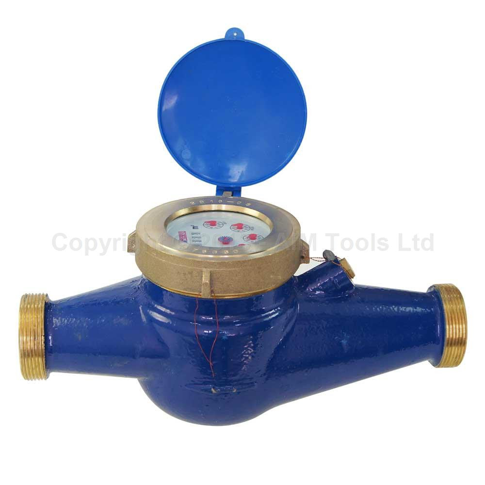 15181040 Copper Water Flow Meter 40MM Cold Dry Counter