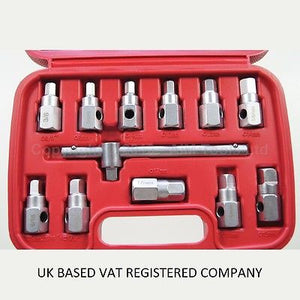 420392 12PC Oil Drain Sump Plug Key Socket Set