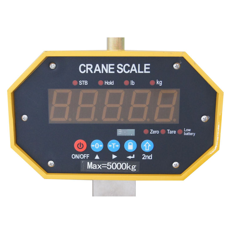 Digital hang LED scale 3000kgs