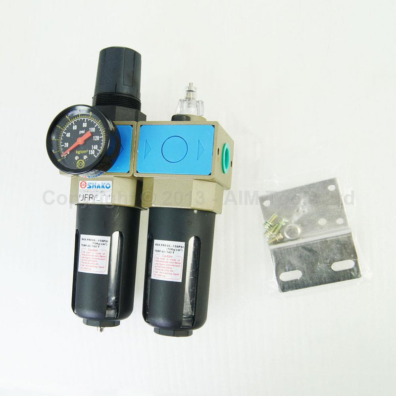 "Air Filter Regulator Lubricator 3/8"" UFR/L-03"