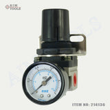 214136 Mini Air Regulator With Dial Gauge AR2000-02