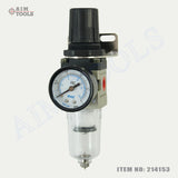 "214153 Air Line Filter/ Regulator with Gauge 1/4"" AW2000-02"