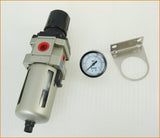 "214159 Air Line Filter/ Regulator with Gauge 1/2"" AW4000-4"