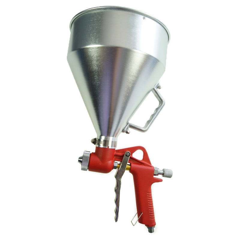 Gravity Feed Texture Air Spray Gun 5L