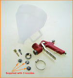 221471 Gravity Feed Texture Air Spray Gun 5 Liters, Plastic Cup