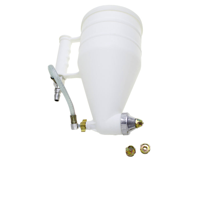 Cement Sprayer Stucco Hopper Exterior Texture Paint Spray Gun