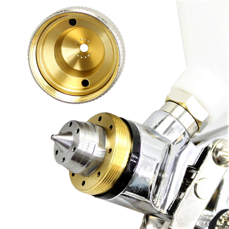 Professional HVLP Gravity Feed Air Spray Gun 1.8mm