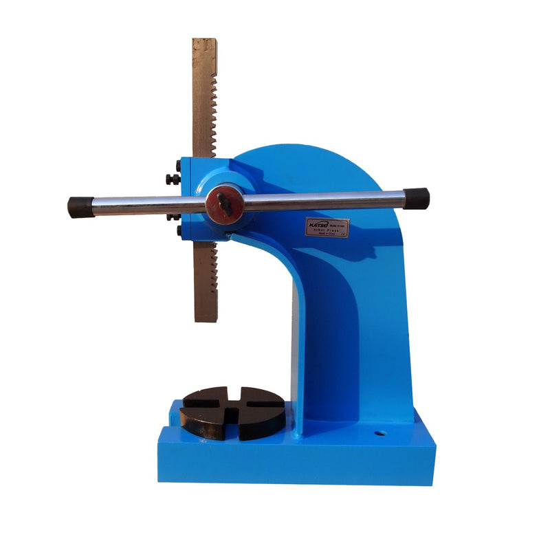Heavy-Duty 1 Ton Arbor Press 4 Cut-Out Sizes
