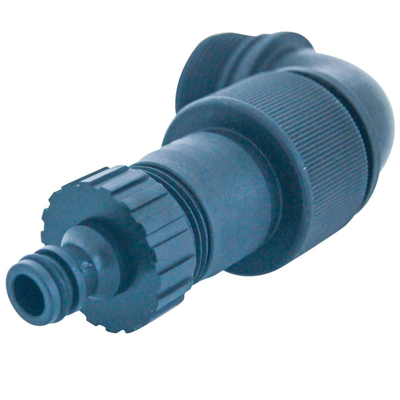 Submersible Water Pump Elbow Outlet With Quick Coupler Connector