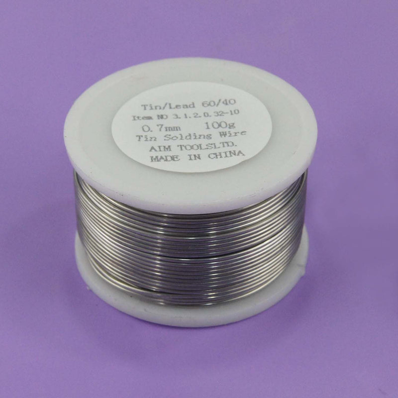 Soldering Wire Tin 60/40 20Gr to 500Gr. 0.5mm 0.7mm 1mm