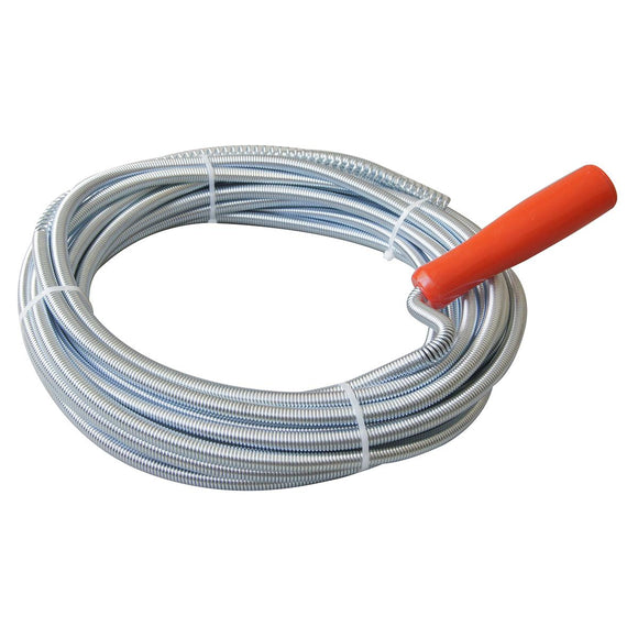 318709 5m Drain cleaner unblocker auger snake wire 9mm thick