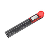 40100 Digital Angle Finder Ruler Fiber Carbon