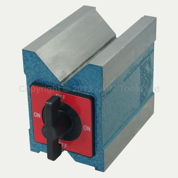 402048 Magnetic V Block 100mm, MV-12K