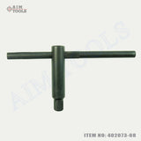 402073 Lathe Post Square Wrench 8 To 17MM