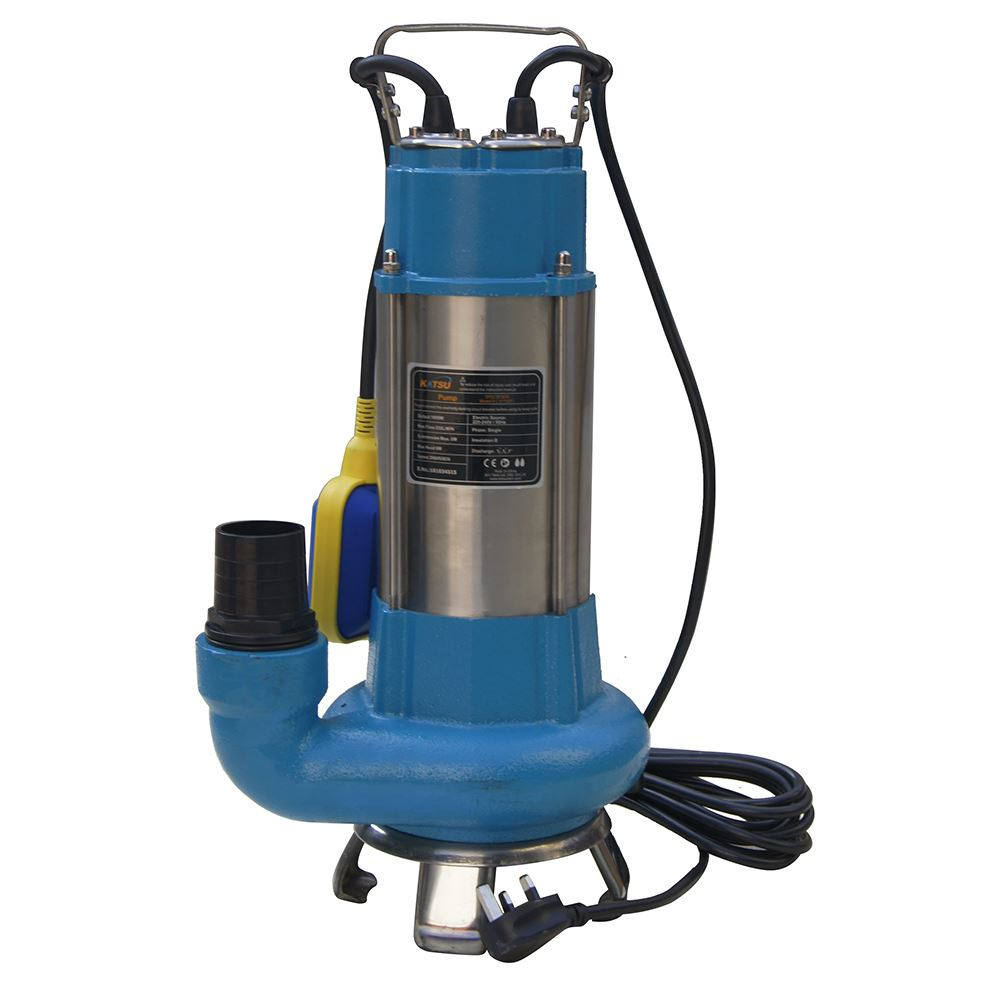 151625 Heavy Duty Submersible Sewage Dirty Water Pump 1100W