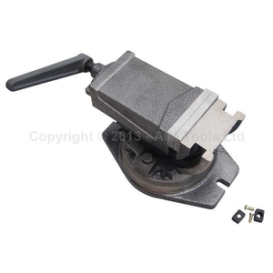 4021575 Precision Tilting Swivel Base Bench Vice 125mm