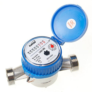 15180820 Cold Water Flow Meter Brass 20mm Dry Dial