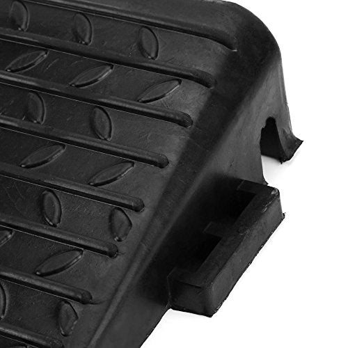 Black Rubber Threshold Kerb Ramps For Cars Wheelchair Mobility Disabled Access