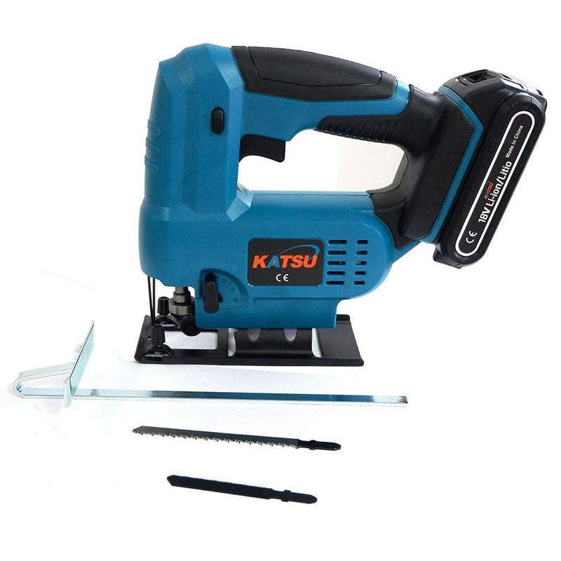 Cordless Jigsaw 18V Include 2.0Ah Battery With 2 Blades