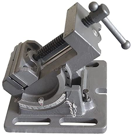 Fixed Base Tilting Bench Vice 75mm