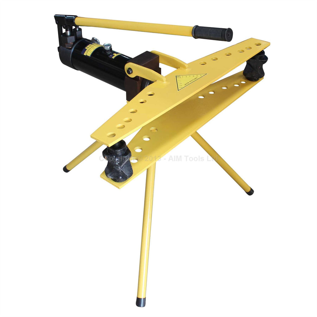 371274 Manual Hydraulic Pipe Bender With Stand 2""