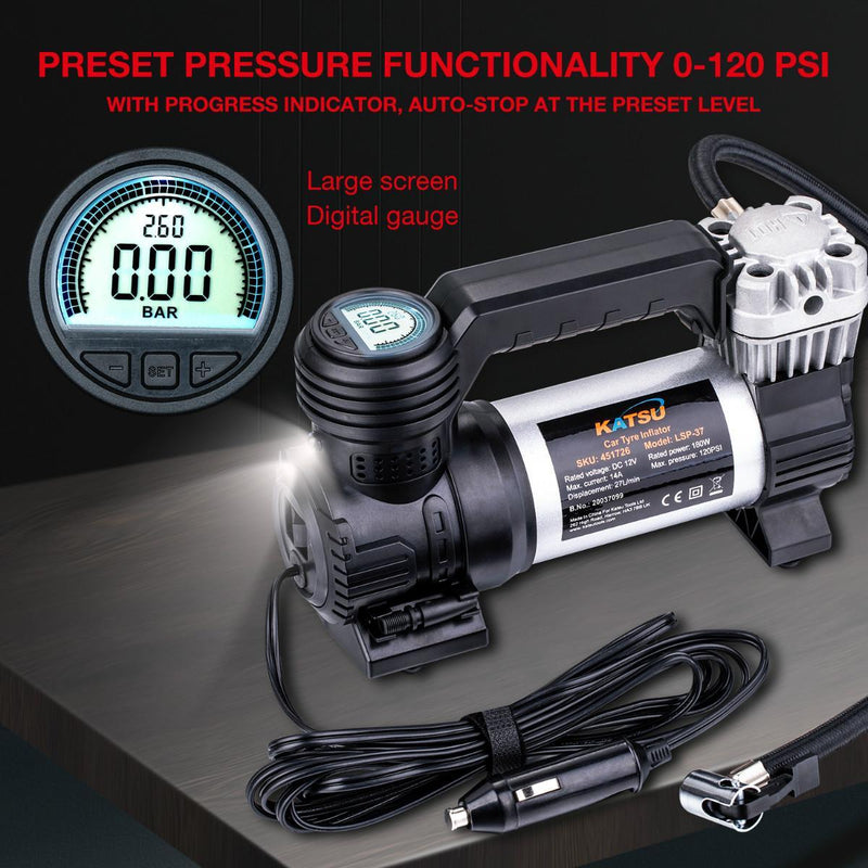 Heavy Duty Digital Tyre Inflator