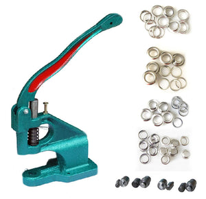 953103 Eyelet Punch Machine Press Hole Tool Grommet Set Kit