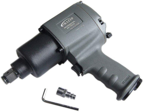 "215226 3/4"" Heavy Duty Air Impact Wrench Twin Hammer 1200N"