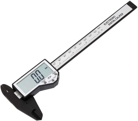 40141567 Fiber Carbon Digital Vernier Caliper 150mm