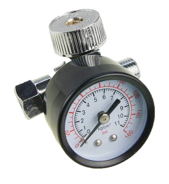 214103 Mini Air Regulator For Spray Guns 1/4""