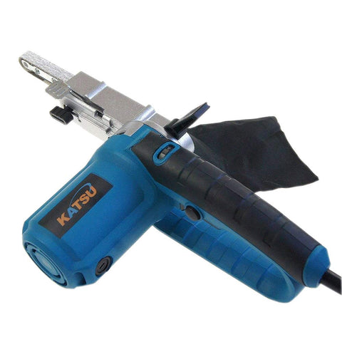 100842 KATSU 400W Electric Power File Belt Sander Soft Grip