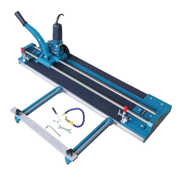 347719 2 in 1 TopWay Manual & Electrical Mitre Tile Cutter 1200MM
