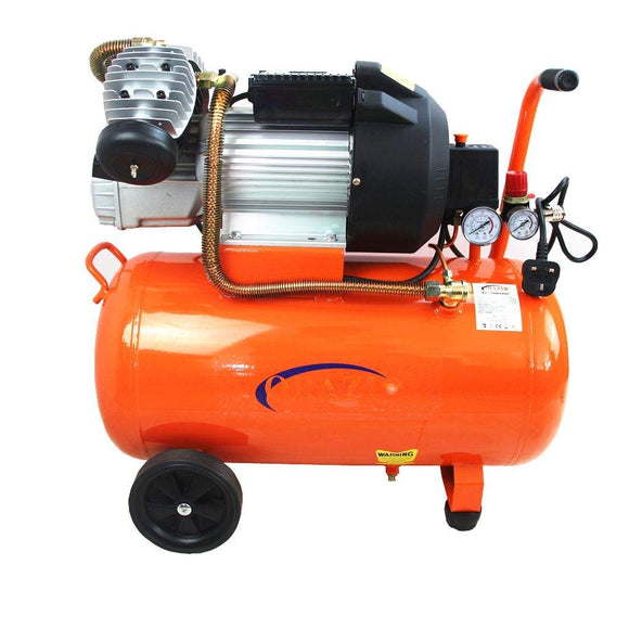 241122 Orazio Air Compressor Direct Type Twin Piston, 50Lit 3Hp