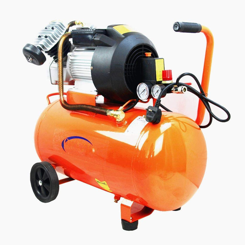 Orazio Air Compressor Direct Type Twin Piston, 50Lit 3Hp