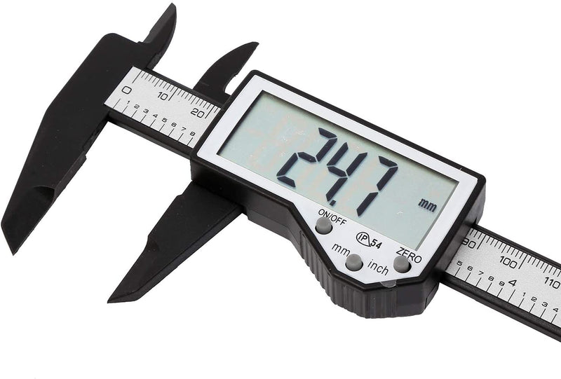 Fiber Carbon Digital Vernier Caliper 150mm