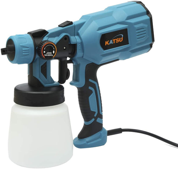 100493 KATSU Electric Spray Gun 550W with 2 Nozzles