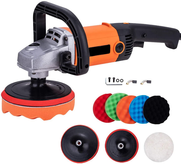 100037 Angle Polisher 150 & 180 mm W/accessories Standard