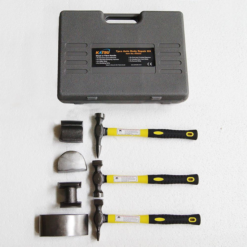 Car Body Repair Tool Set 7Pc