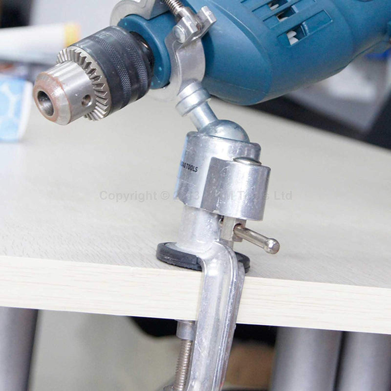 Multi-Function Rotation Drill Grinder Clamper Holder Table Workbench Vice