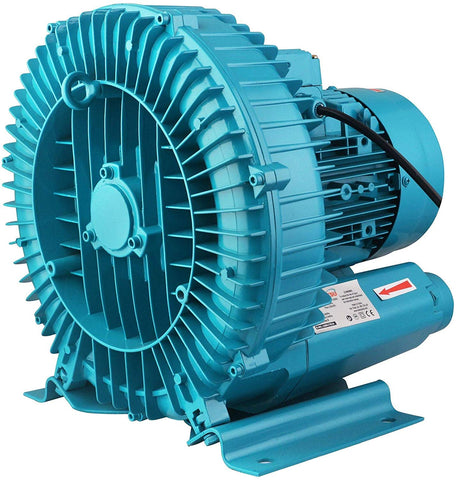 173850 Induction Motor Aerator Oxygen Turbo Centrifugal Blower 550W