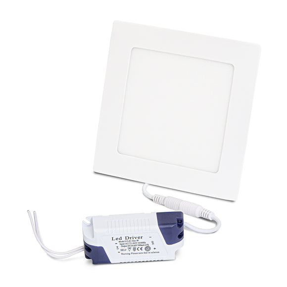 773701 White LED Panel Light Square