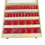 "133045 1/4"" Shank Wood Working Router bit set 35PCs"