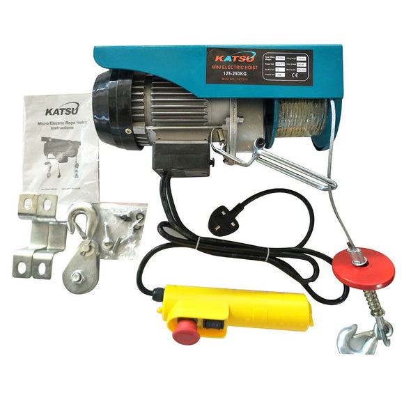 181312 Scaffold Winch Electric Hoist Lifting 125 to 1000KG