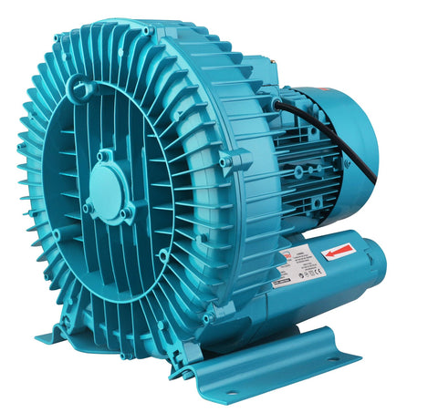 173874 Induction Motor Aerator Oxygen Turbo Blower 4000w 3 phase