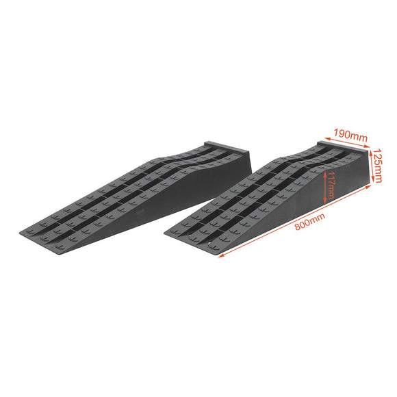 161909 Plastic car Ramps TS270 800 X 205 X 125MM