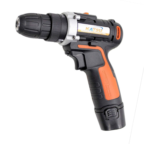 102334  12V Lithium Ion Cordless Drill Driver Twin Battery With Bmc