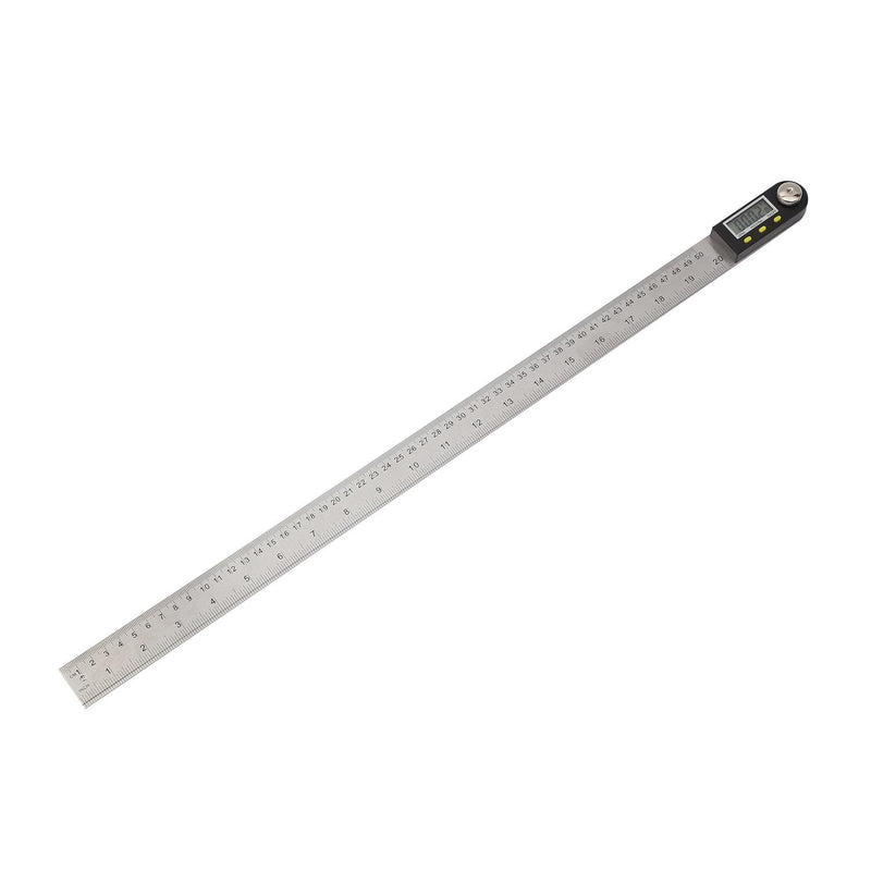 Digital Angle Finder Ruler Stainless Steel 500mm