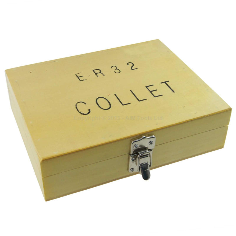 ER32 Collet Chuck Set 4-20mm (11 Pieces)