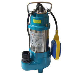 151622 Heavy Duty Submersible Sewage Dirty Water Pump 250W