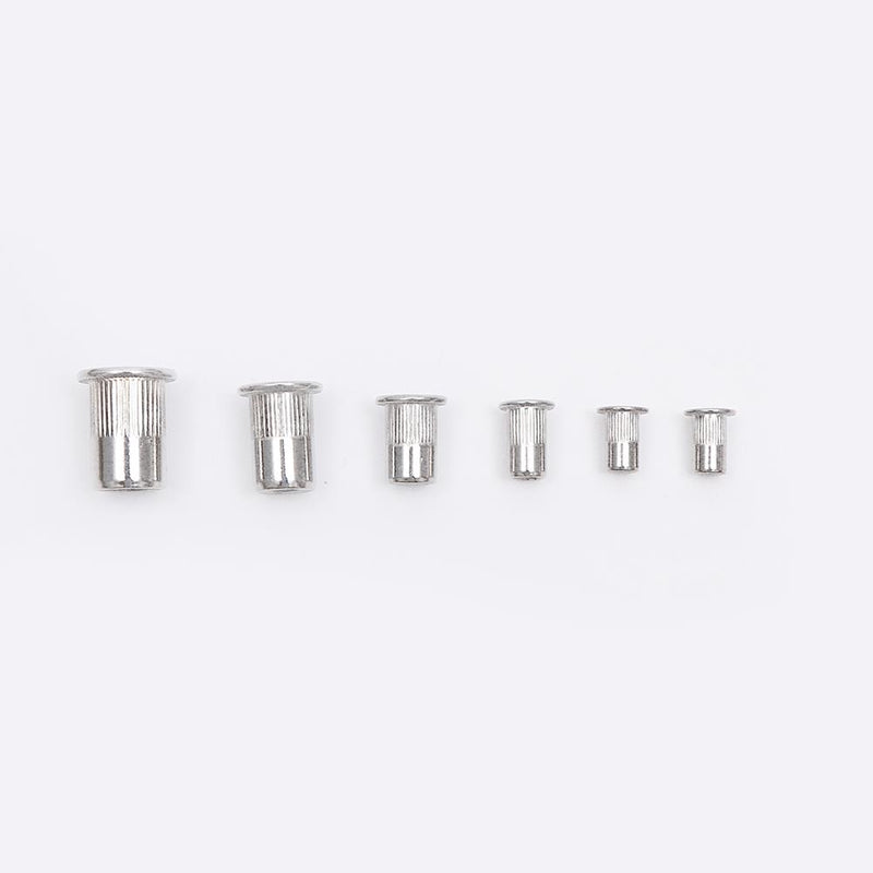 Stainless Steel Rivet Nut Assortment 180PCS M3 - M10